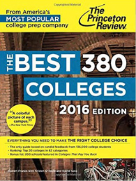The Princeton Review Best 380 Colleges, 2016
